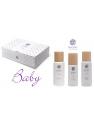 CAJA REGALO BABY PACK 1 DE NAOBAY (GEL BAÑO 200ML + EMULSION CORPORAL 200ML + CREMA FACIAL 100 ML)