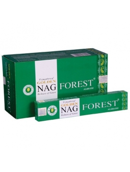 INCIENSO NAG CHAMPA ORIGINAL GOLDEN FOREST