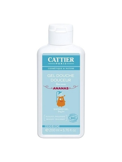 GEL DE DUCHA SUAVE BIO NIÑOS DE CATTIER (200ML)