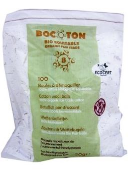 BOLAS DE ALGODON BIO DE BOCOTON
