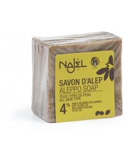 JABON ALEPO 4% BAYAS LAUREL DE NAJEL