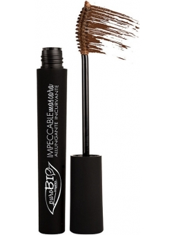 MASCARA DE PESTAÑAS BIO IMPECCABLE MARRON DE PUROBIO