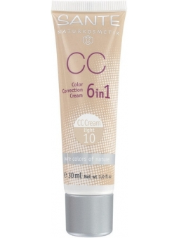 MAQUILLAJE CC CORRECTOR DEL COLOR BIO LIGHT 10 SANTE