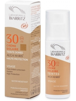 CREMA FACIAL CON COLOR BIO GOLDEN SPF 30 DE ALGA MARIS