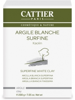 ARCILLA BLANCA BIO SUPERFINA (200G) DE CATTIER