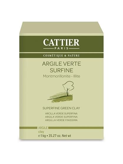 ARCILLA VERDE BIO SUPERFINA (1KG) DE CATTIER