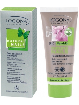 CREMA DE MANOS CONCENTRADA BIO NATURAL NAILS DE LOGONA