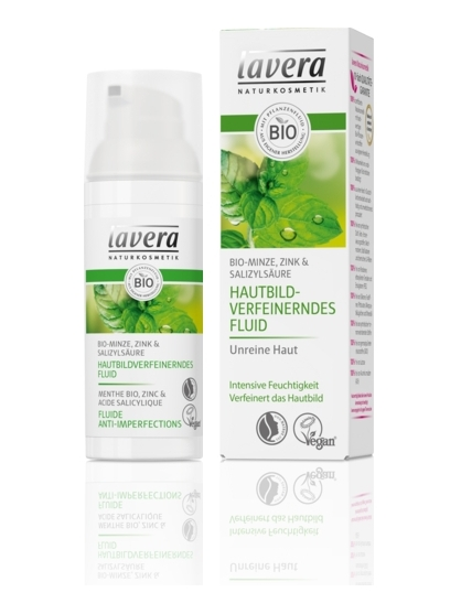 FLUIDO FACIAL PURIFICANTE ANTI-IMPERFECCIONES MENTA DE LAVERA