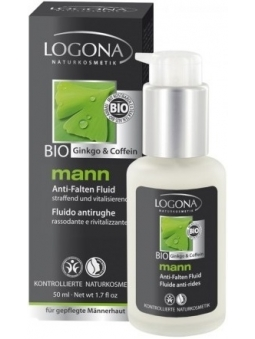 FLUIDO ANTI-ARRUGAS NATURAL LOGONA HOMBRE MANN