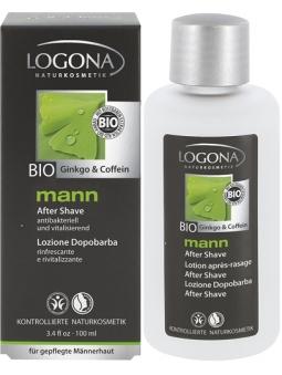 LOCION AFTERSHAVE NATURAL LOGONA HOMBRE MANN