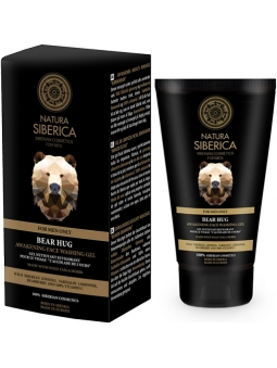 GEL LIMPIADOR FACIAL NATURAL RENOVADOR ABRAZO DE OSO FOR MEN ONLY DE NATURA SIBERICA HOMBRE