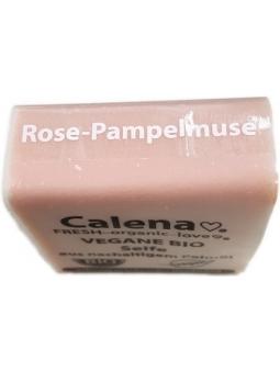 JABON PASTILLA BIO POMELO-ROSE PAMPELMUSE DE CALENA