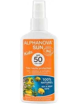 PROTECTOR SOLAR PARA NIÑOS BIO SPF 50 SUN KIDS DE ALPHANOVA