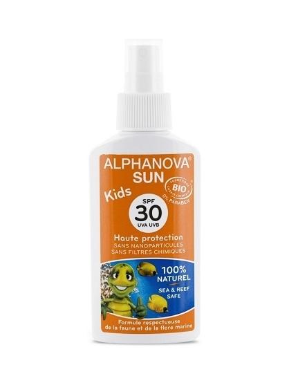 PROTECTOR SOLAR PARA NIÑOS BIO SPF 30 SUN KIDS DE ALPHANOVA