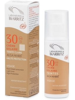 CREMA FACIAL CON COLOR BIO LIGHT SPF 30 DE ALGA MARIS