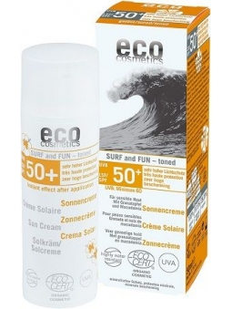 PROTECTOR SOLAR CON COLOR BIO SPF 50+ SURF AND FUN DE ECO COSMETICS