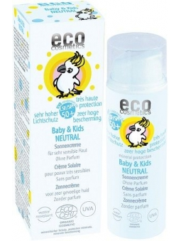 PROTECTOR SOLAR INFANTIL NEUTRAL SPF 50+ BABY AND KIDS ECO COSMETICS