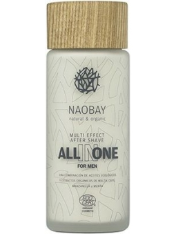 BALSAMO AFTERSHAVE ENERGIZANTE Y REFRESCANTE BIO PARA HOMBRE ALL IN ONE FOR MEN DE NAOBAY