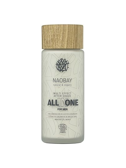 BALSAMO AFTERSHAVE ENERGIZANTE PARA HOMBRE ALL IN ONE FOR MEN NAOBAY
