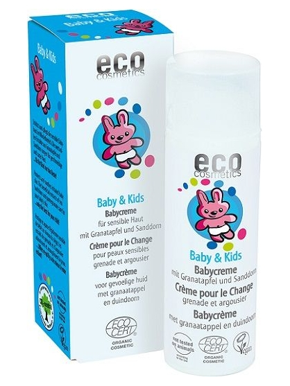 CREMA DE PAÑAL INFANTIL BABY AND KIDS DE ECO COSMETICS