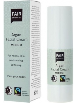 CREMA FACIAL MEDIA-MEDIUM ARGAN BIO PIEL NORMAL Y MIXTA DE FAIR SQUARED