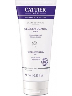 GEL EXFOLIANTE FACIAL TODO TIPO DE PIEL GRAINS DE LUMIERE DE CATTIER