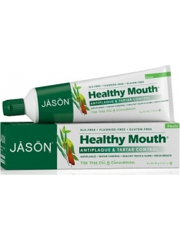 DENTIFRICO SIN FLUOR ANTIPLACA Y ANTISARRO HEALTHY MOUTH DE JASON