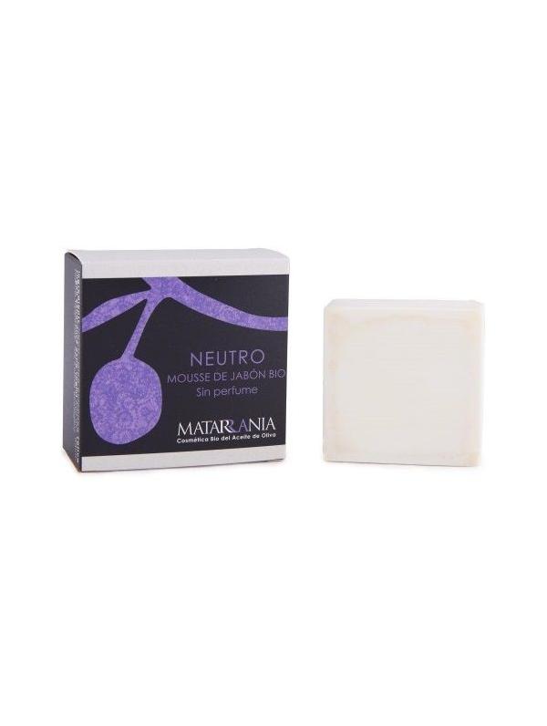 Mousse de jab n en pastilla bio neutro sin perfume de - Jabon neutro para limpiar ...