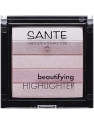 ILUMINADOR EN POLVO BIO 02 ROSE BEAUTIFYING HIGHLIGHTER DE SANTE
