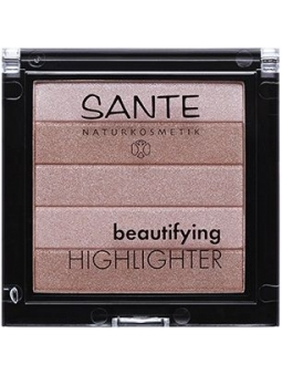 ILUMINADOR EN POLVO BIO 01 NUDE BEAUTIFYING HIGHLIGHTER DE SANTE