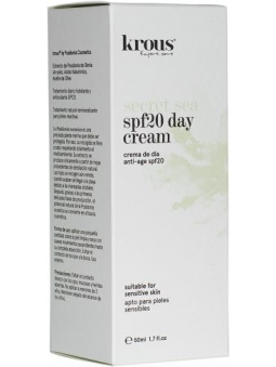 CREMA FACIAL DE DIA ANTIEDAD SPF 20 SECRET SEA DE KROUS