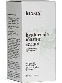 SERUM FACIAL MARINO HIALURONICO SECRET SEA DE KROUS