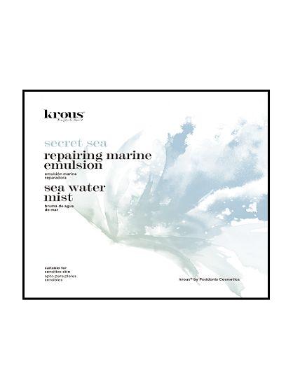 PACK REPARA BRUMA (125ML) Y EMULSION (50 ML) SECRET SEA DE KROUS