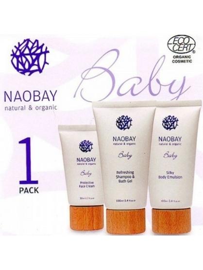 pack de regalo infantil bio baby de naobay | ayanarasecret.es