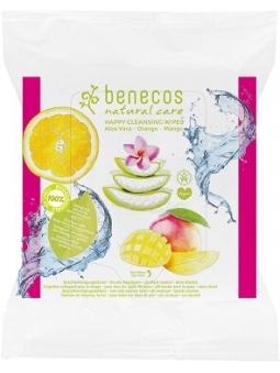 TOALLITAS DESMAQUILLANTES SIN ALCOHOL DE BENECOS