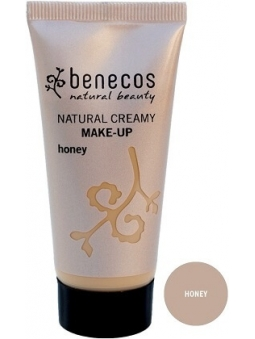 MAQUILLAJE NATURAL FLUIDO CREMOSO HONEY DE BENECOS