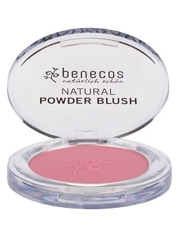 COLORETE COMPACTO NATURAL MALLOW ROSE DE BENECOS
