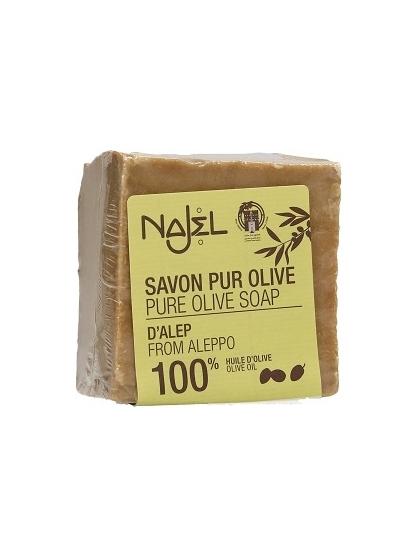 JABON ALEPO 100% ACEITE DE OLIVA DE NAJEL