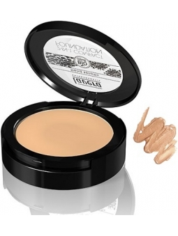 MAQUILLAJE COMPACTO 2 EN 1 FOUNDATION 03 HONEY DE LAVERA