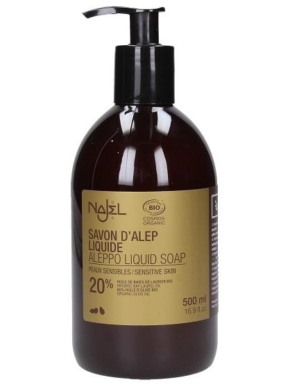 JABON LIQUIDO 20% ALEPO BIO 500ML DE NAJEL