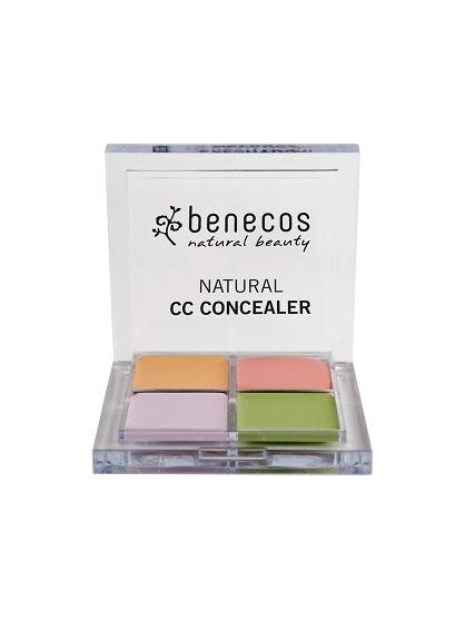 CC CORRECTOR DE COLOR NATURAL EN CREMA DE BENECOS