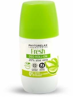 DESODORANTE EN ROLL ON FRESH CON 20% ALOE VERA DE PHYTORELAX