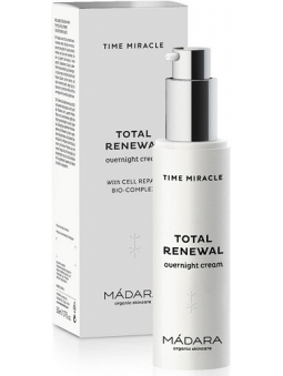 CREMA FACIAL DE NOCHE TOTAL RENEWAL TIME MIRACLE DE MADARA