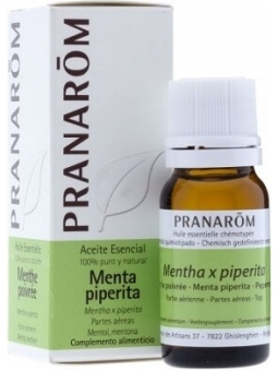 ACEITE ESENCIAL DE MENTA PIPERITA 100% PURO Y NATURAL DE PRANAROM
