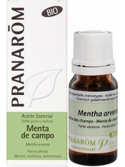 ACEITE ESENCIAL DE MENTA DE CAMPO BIO 100% PURO Y NATURAL DE PRANAROM
