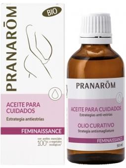 ACEITE PARA CUIDADOS ESTRATEGIA ANTIESTRIAS FEMINAISSANCE DE PRANAROM