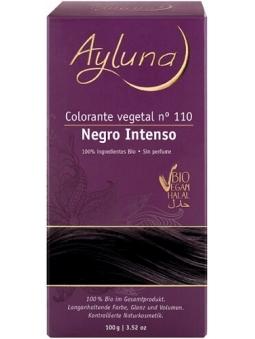 COLORANTE CAPILAR VEGETAL EN POLVO 100% BIO 110 NEGRO OSCURO DE AYLUNA