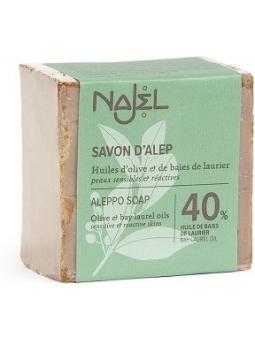 JABON ALEPO 40% BAYAS LAUREL NAJEL