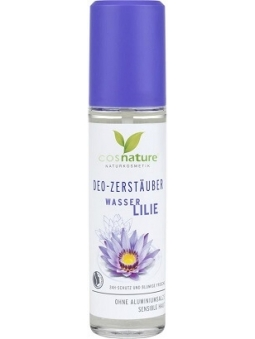 DESODORANTE SPRAY NENUFAR Y ALOE VERA PARA PIEL SENSIBLE DE COSNATURE