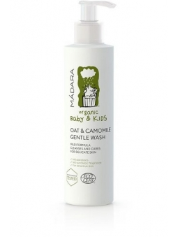 GEL DE BAÑO-DUCHA INFANTIL SUAVE PIEL SENSIBLE BABY AND KIDS DE MADARA